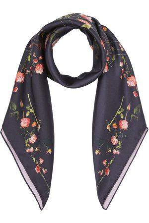 Burberry Silketørklæde med rosentryk