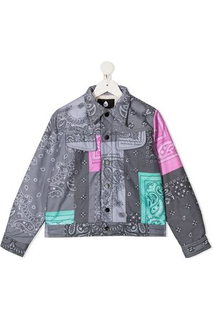 DUOltd Cowboyjakker - Bandana patchwork jacket