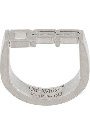 OFF-WHITE Mænd Ringe - Sølvring