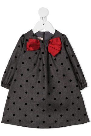 LA STUPENDERIA Kort kjole med sløjfe-udsmykning