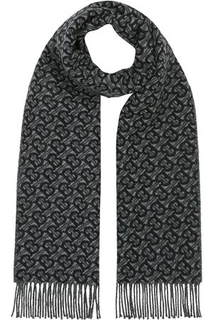 Burberry Tørklæder - Monogram jacquard scarf