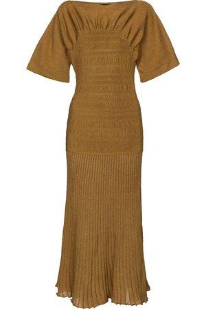 Proenza Schouler Kvinder Strikkede kjoler - Smocked knit midi dress