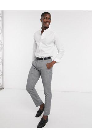 Bolongaro Slim fit grandad-skjorte