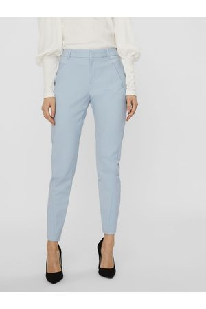Vero Moda Feminine Bukser Kvinder Blå