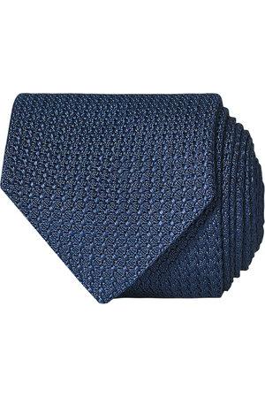 Amanda Christensen Silk Grenadine 8 cm Tie Napoli Blue