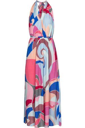 Emilio Pucci Kvinder Mønstrede kjoler - Printed halterneck maxi dress