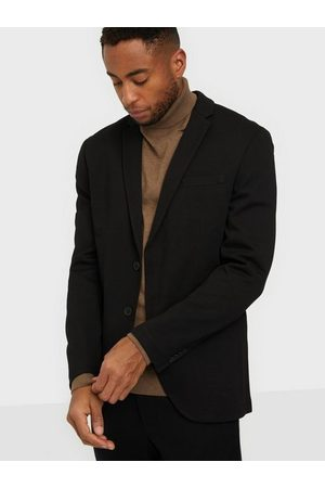 Jack & Jones Jjephil Jersey Blazer Blazere & jakkesæt Black Super Slim Fit