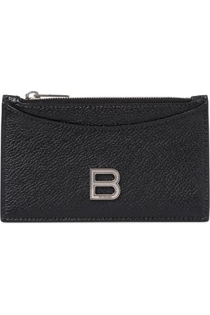 Balenciaga Hourglass leather card holder