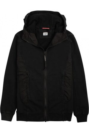 C.P. Company Cotton Fleece Goggle Hood Sweat