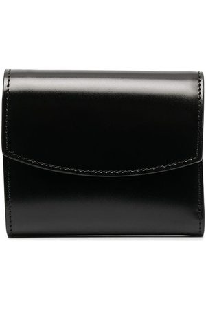 Maison Margiela Four-stitch tri-fold wallet