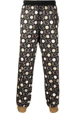 Gucci X Ken Scott print track pants