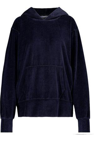 Les Tien Kvinder Sweatshirts - Velour hoodie