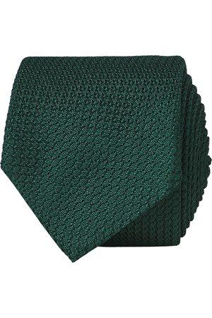 Amanda Christensen Mænd Slips - Silk Grenadine 8 cm Tie Green