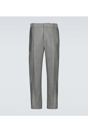 Alexander McQueen Wool-blend tailored pants