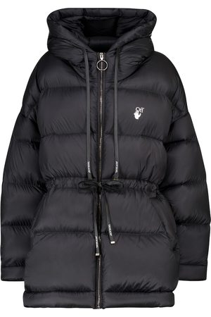 OFF-WHITE Hooded down coat