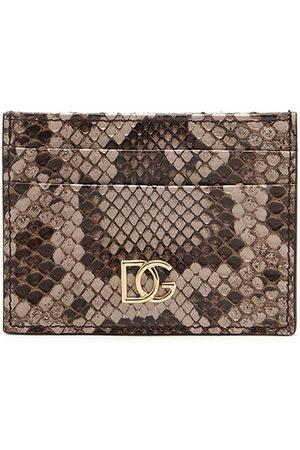 Dolce & Gabbana Mænd Punge - Snake DG cardholder