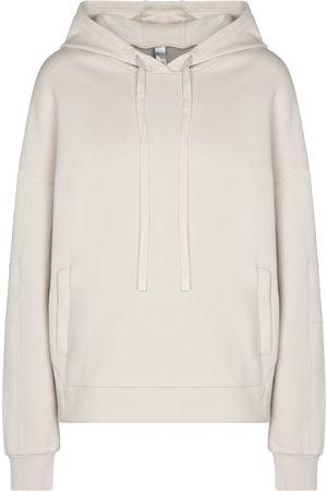 alo Kvinder Trøjer - Interval cotton-blend hoodie