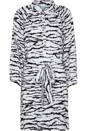 Melissa Odabash Kvinder Festkjoler - Amy tiger-print minidress