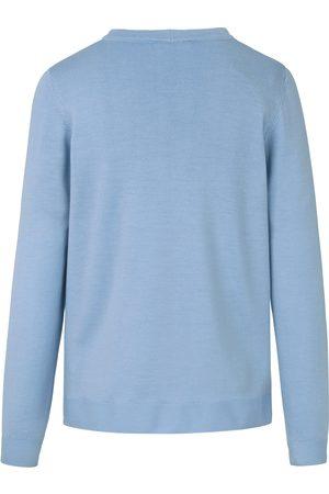 Peter Hahn Twinset 100% ren ny uld Fra blå