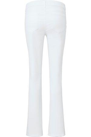 NYDJ Jeans model Marilyn Straight Fra denim