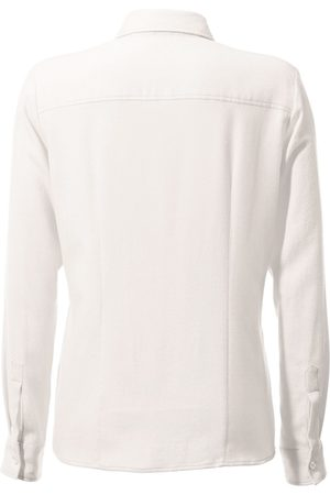 Peter Hahn Skjorte 100% bomuld Fra hvid