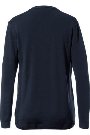 Peter Hahn Twinset i 100% ren ny uld Fra blå
