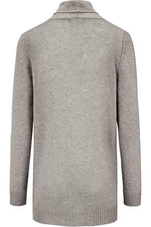 Peter Hahn Cardigan i 100% ren ny uld Fra grå