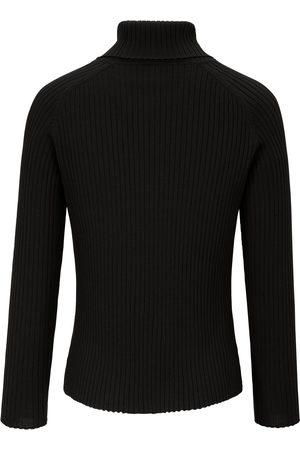 Peter Hahn Rullekravebluse i 100% ren ny uld Fra