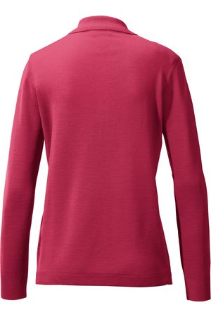 Peter Hahn Polobluse 100% ren ny uld Fra