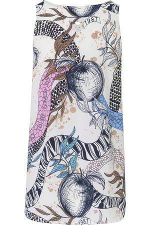 Lieblingsstück Top rund hals og paradisprint Fra multicolor