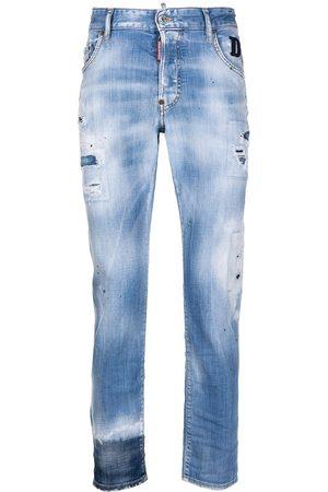 Dsquared2 Jeans med lige ben og slitageeffekt