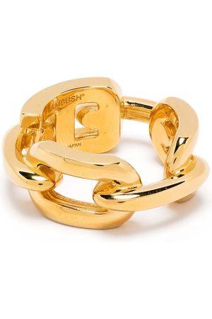 AMBUSH CHAIN RING 5 GOLD