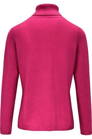 include Strikbluse rullekrave Fra pink
