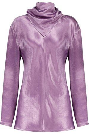 Bottega Veneta Kvinder Tunikaer - Cupro tunic top