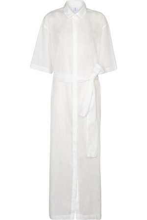 SIR Alina cotton and linen maxi dress