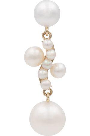 SOPHIE BILLE BRAHE Kvinder Øreringe - Petite Ocean Perle 14kt gold single earring with pearls