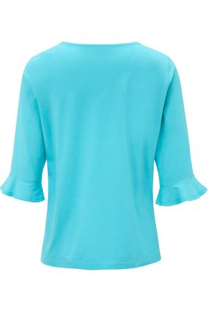 Green Cotton Bluse Fra