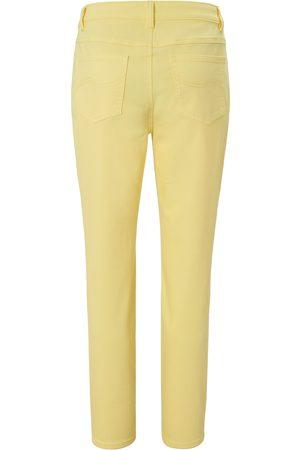 Mybc Jeans i bomuldsstretch Fra gul