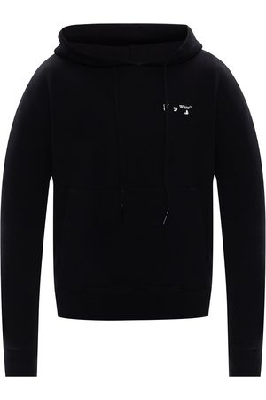 OFF-WHITE Mænd Sweatshirts - Logo-embroidered hoodie