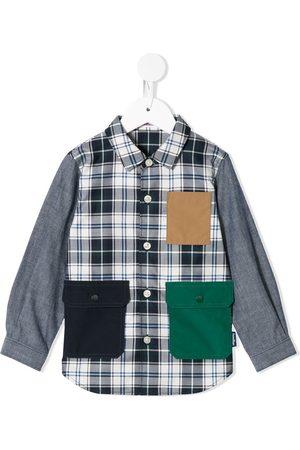 Familiar Plisseret skjorte med flaplommer