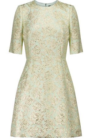 Dolce & Gabbana Kvinder Festkjoler - Brocade minidress