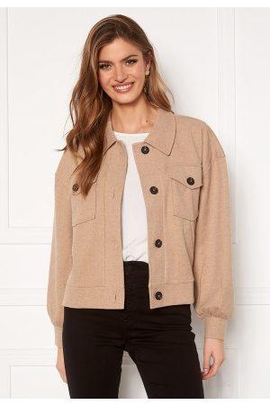 Vero Moda Asha L/S Overshirt Jacket Silver Mink XL