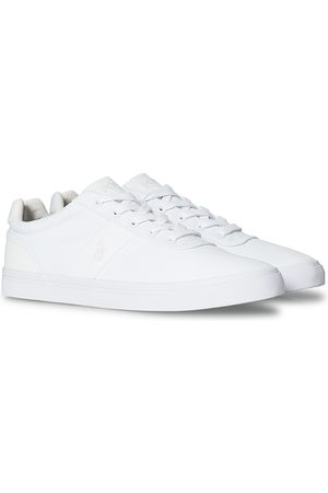 Polo Ralph Lauren Mænd Casual sko - Hanford Canvas Sneaker Pure White