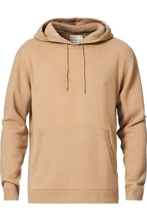 People´s Republic of Cashmere Mænd Sweatshirts - Cashmere Hoodie Camel