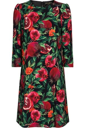 Dolce & Gabbana Exclusive to Mytheresa – Pomegranate-printed minidress