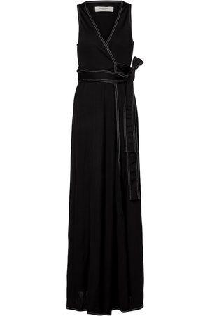 Golden Goose Cleopatra belted maxi dress