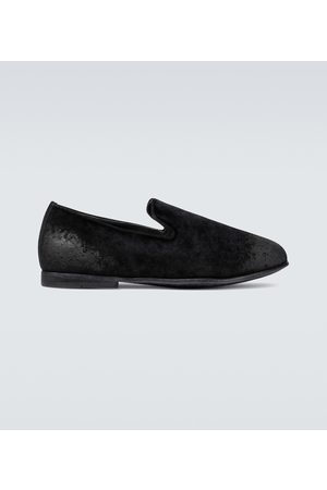 Dolce & Gabbana Exclusive to Mytheresa - velvet loafers