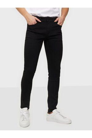 Only & Sons Onswarp Life Skinny Black Pk 9383 N Jeans Black Denim