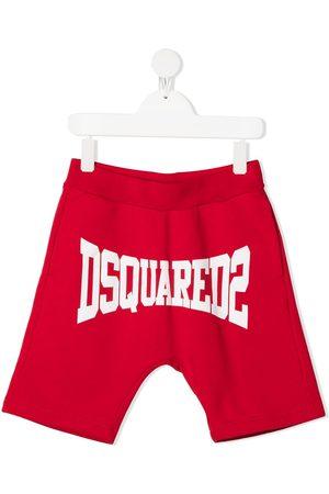 Dsquared2 Shorts - Logo-print track shorts