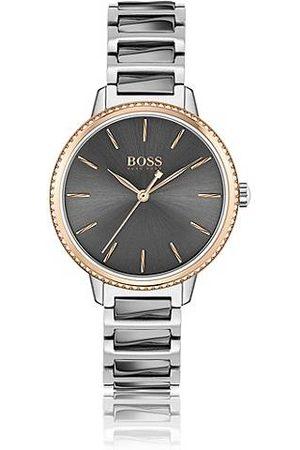 HUGO BOSS Kvinder Ure - Link-bracelet watch with Swarovski®-trimmed bezel